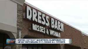 Dressbarn is going out of business [Video]