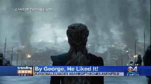 Trending: Jason Alexander On GOT Finale [Video]