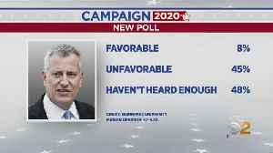 De Blasio Gets 8 Percent Favorable Rating In 2020 Poll [Video]