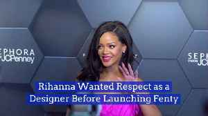 Rihanna Takes Fashion Very Seriously [Video]