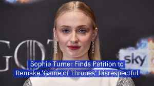 Sophie Turner Is Insulted By 'Game of Thrones' Critics [Video]