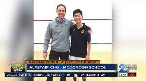 Student Athlete of the Week - Alastair Cho [Video]