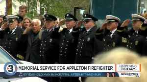Funeral for fallen Appleton firefighter [Video]