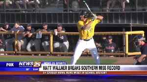 Matt Wallner breaks Southern Miss home run record [Video]