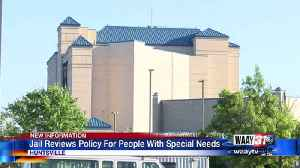 Jail reviews policy regarding people with special needs [Video]