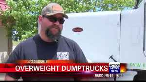 CHP cracks down on overweight debris-hauling trucks [Video]