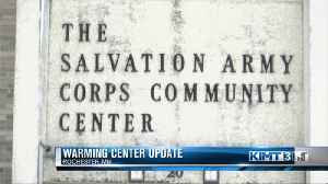 Commissioners discuss plans for warming center [Video]
