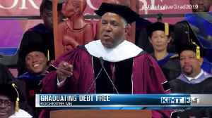 Millionaire vows to cover cost of graduates' student debt [Video]