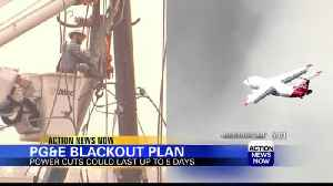 Preparing for potential PG&E power outages [Video]
