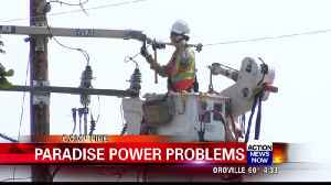 Some in Paradise still living without power [Video]