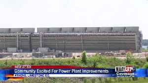 Community Excited For Power Plant Improvements [Video]