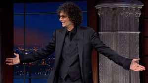 Howard Stern's Triumphant Return To The Late Show [Video]