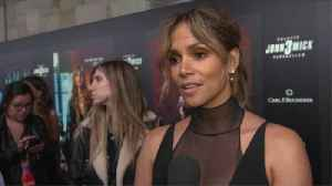 Halle Berry confirms giant spine tattoo was fake [Video]