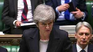 Theresa May delivers statement to MPs on new Brexit deal [Video]
