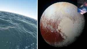 Pluto's subsurface ocean kept from freezing by gas layer [Video]
