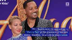 Will Smith's Passion for Acting Reignited by 'Aladdin' [Video]