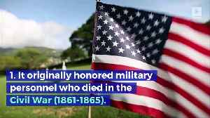 5 Things You Might Not Know About Memorial Day [Video]