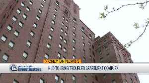 Cleveland, HUD inspectors tour troubled city apartment complex for health and building violations [Video]