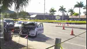 Jupiter police officer involved in crash with suspect recovering [Video]