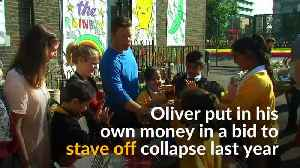 Jamie Oliver's UK restaurant chain goes under [Video]