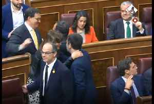 Jailed Catalan Politicians Attend Spanish Parliament Opening [Video]