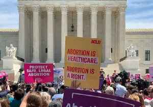 Abortion Rights Protest Held Outside US Supreme Court [Video]