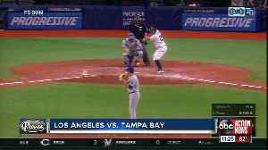 Clayton Kershaw takes shutout in 7th inning, Los Angeles Dodgers Tampa Bay beat Rays 7-3 [Video]