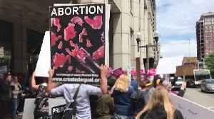 Abortion-Rights Rally Draws Counterprotesters to Ohio Statehouse [Video]