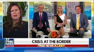 Sarah Sanders calls out Dems on border crisis [Video]