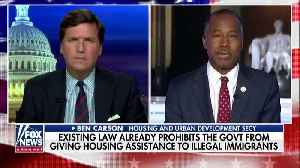 Ben Carson explains the law on housing to Illegal Immigrants [Video]