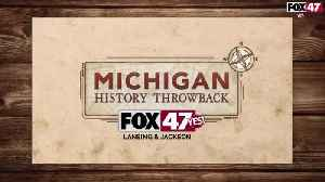 Michigan History Throwback: The Senate Chambers Chandeliers and Glass Ceiling Panels [Video]