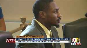 Deonte Baber sentenced to 18 years to life [Video]