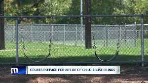 Courts prepare for influx of child abuse filings [Video]