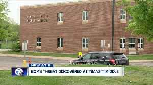 Bomb threat discovered at Transit Middle School [Video]