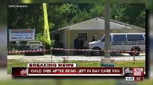 News video: Infant dies after being left in Florida day care center van for 5 hours, deputies say