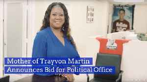 Trayvon Martin's Mother Is Getting Into Politics [Video]