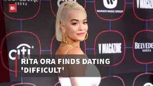 News video: Rita Ora Is Too Busy To Find Her Man