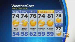 New York Weather: CBS2 5/21 Evening Forecast at 5PM [Video]