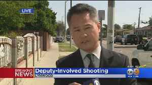 Man Allegedly Threatening Family Members With A Hammer Shot By Deputies In Lynwood [Video]