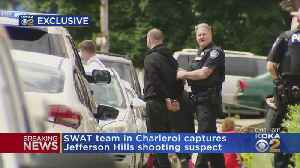 SWAT Finds Shooting Suspect Hiding Out In Charleroi Home [Video]