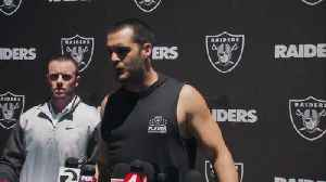 Oakland Raiders quarterback Derek Carr: 'Negative 47 percent chance' of Raiders drafting quarterback in 2019 NFL Draft [Video]