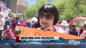 Abortion Ban protests in Tucson [Video]