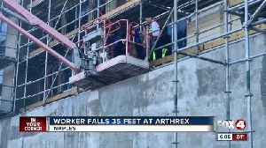 Worker falls at Arthrex in Naples [Video]