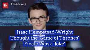 Isaac Hempstead-Wright Gives His Take On Shocking 'GoT' Finale [Video]