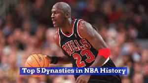 The Best NBA Teams In Basketball History [Video]