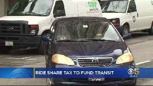 News video: San Francisco One Of First Cities To Tax Uber, Lyft Rides
