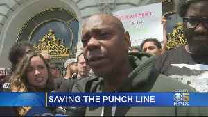 Comic Dave Chappelle Leads Push To Save Landmark San Francisco Comedy Club [Video]