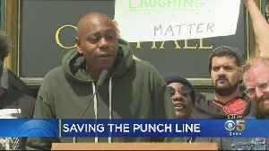 Dave Chappelle Urges San Francisco To Save Punch Line Comedy Club [Video]