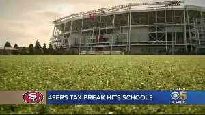 Santa Clara County Schools May Be On Hook For 49ers Tax Rebate [Video]