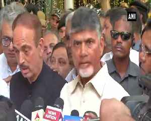EC has problem with tallying EVM-VVPAT machines before counting begins CM Naidu [Video]